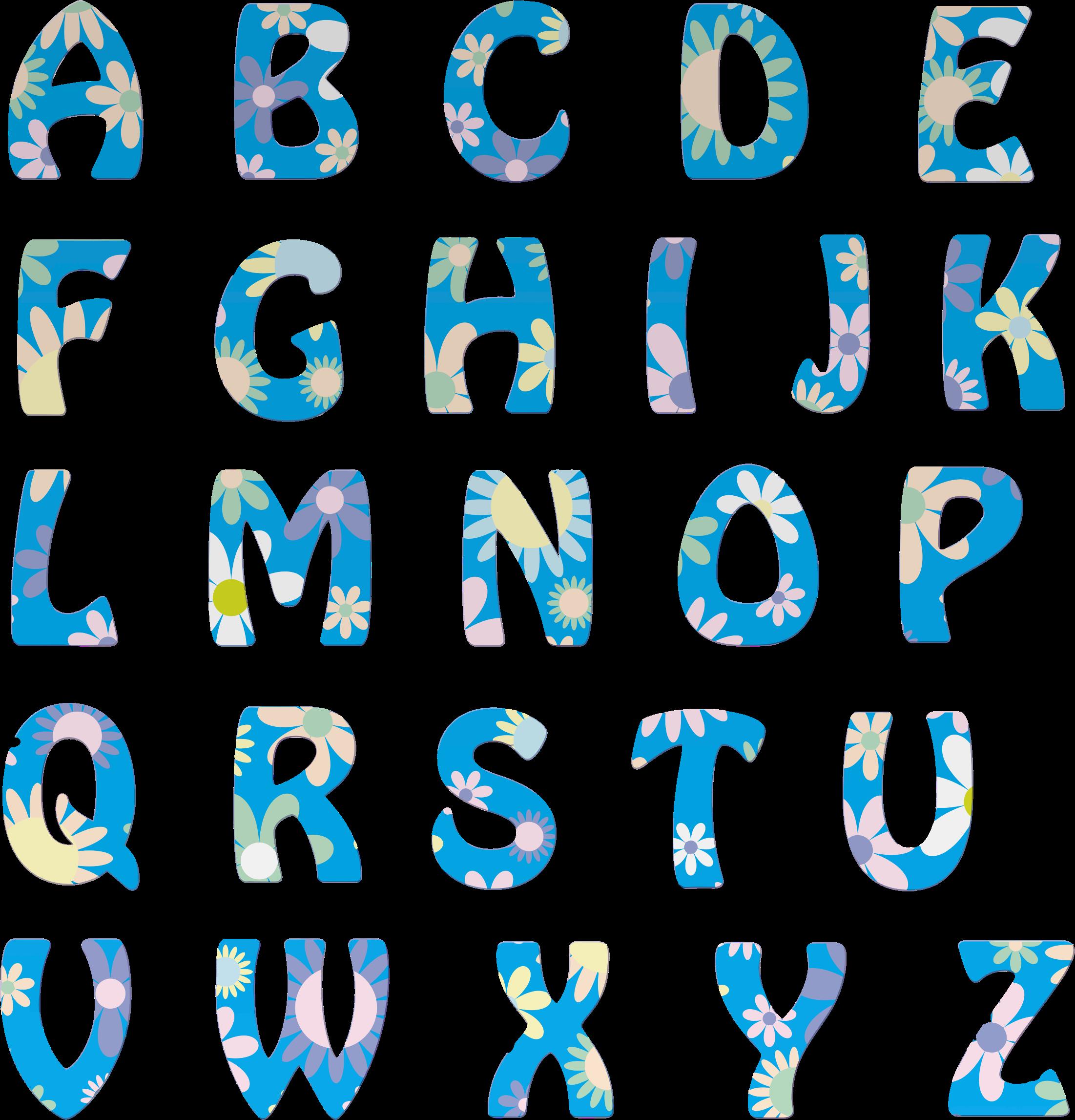 BIG IMAGE (PNG) - Alphabets PNG