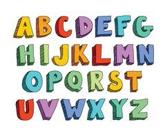 block-letter-alphabet.png - Alphabets PNG