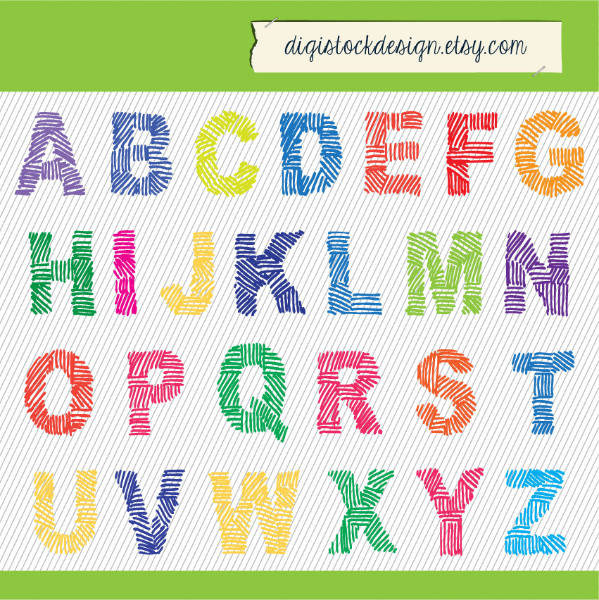 Like this item? - Alphabets PNG