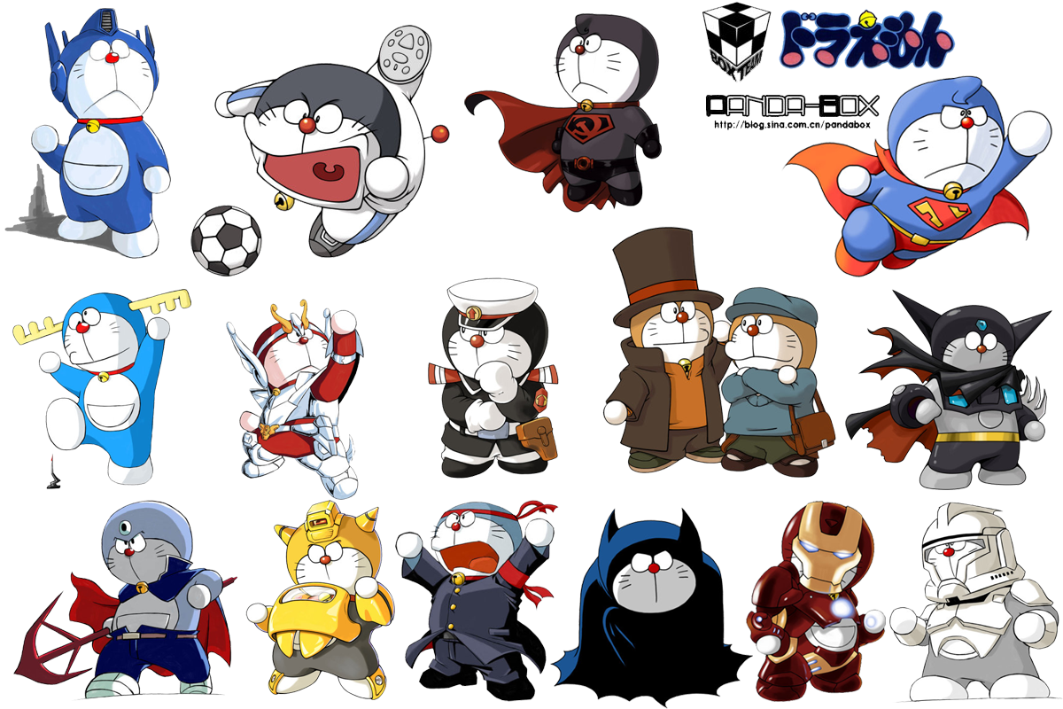 . PlusPng.com Doraemon Alter Ego -3rd- by Endtrax - Alter Ego Vector PNG