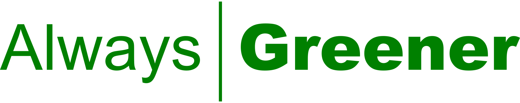 File:Always Greener Logo.png - Always PNG