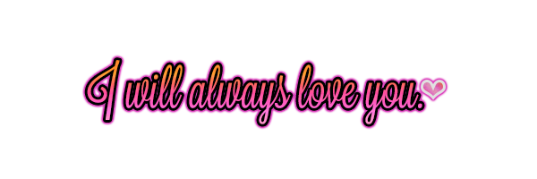 I will always love on deviantart - Always PNG