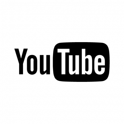 YouTube Black Logo. Format: E