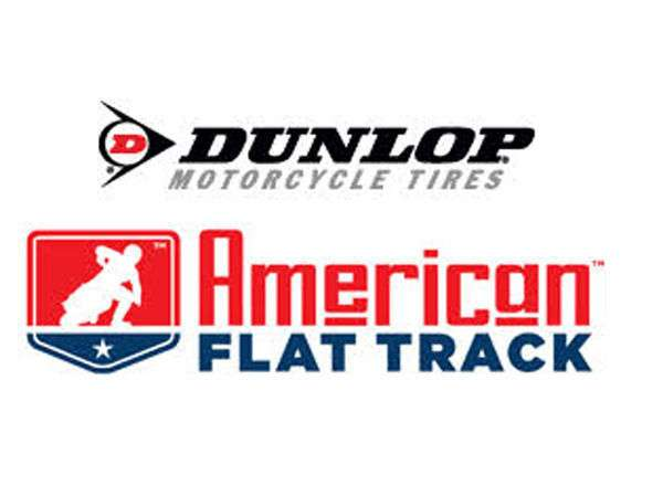Ama pro racing and dunlop motorcycle tires partner for american flat track - Ama Flat Track Vector PNG