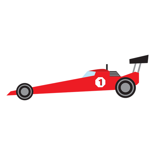 Formula One racing car cartoon Transparent PNG - Ama Pro Racing Vector PNG