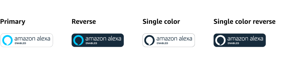 Do not use the Alexa icon in isolation by removing elements of the above Amazon  Alexa Enabled badge. Do not use the Amazon Alexa Enabled Badge in line with  PlusPng.com  - Amazon Alexa Logo Vector PNG