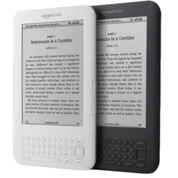 128x128 px, Amazon Kindle 4 Icon 256x256 png - Amazon Kindle PNG