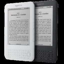 128x128 Px, Amazon Kindle 4 Icon 256x256 Png - Amazon Kindle PNG