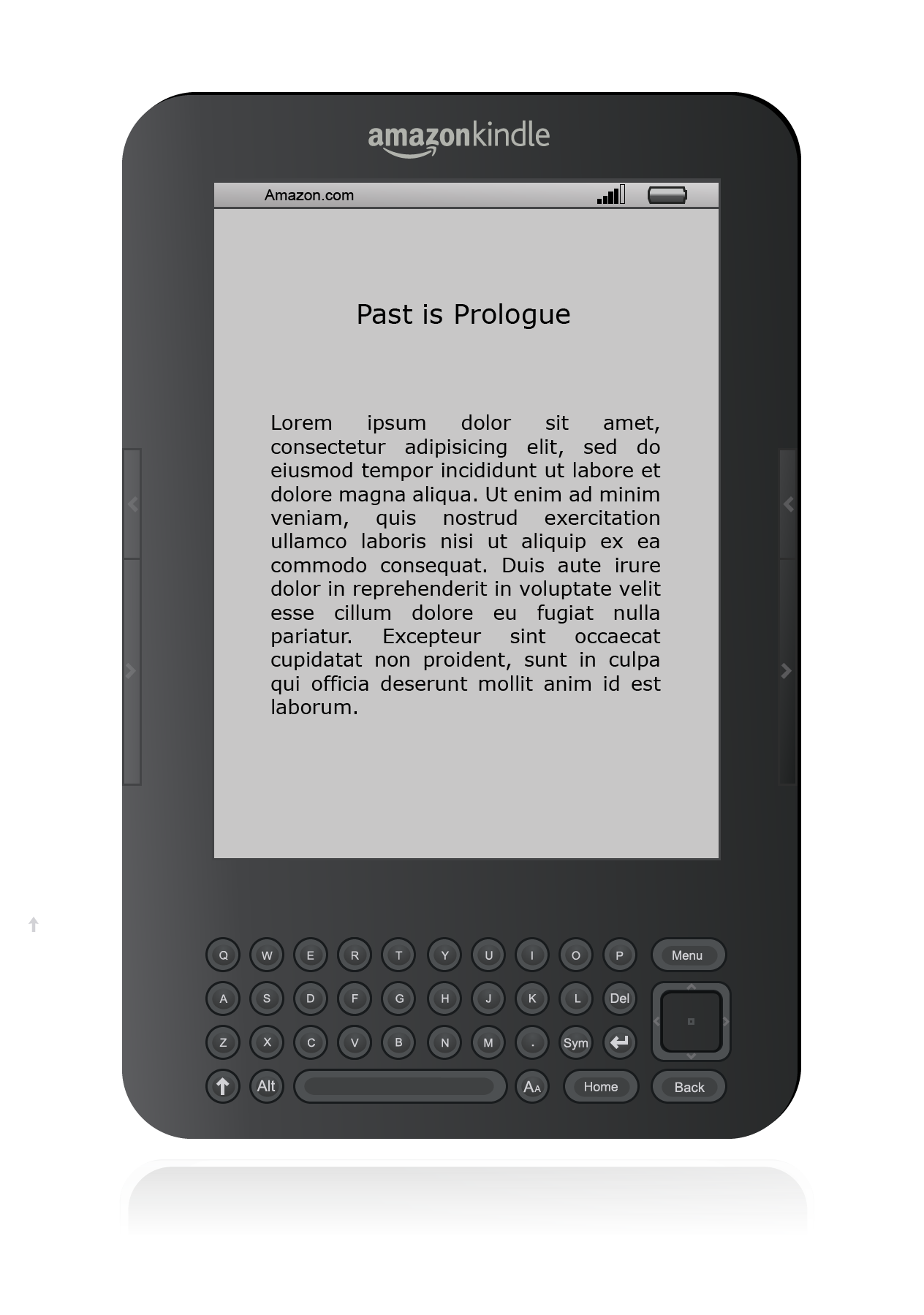 So PlusPng.com  - Amazon Kindle PNG