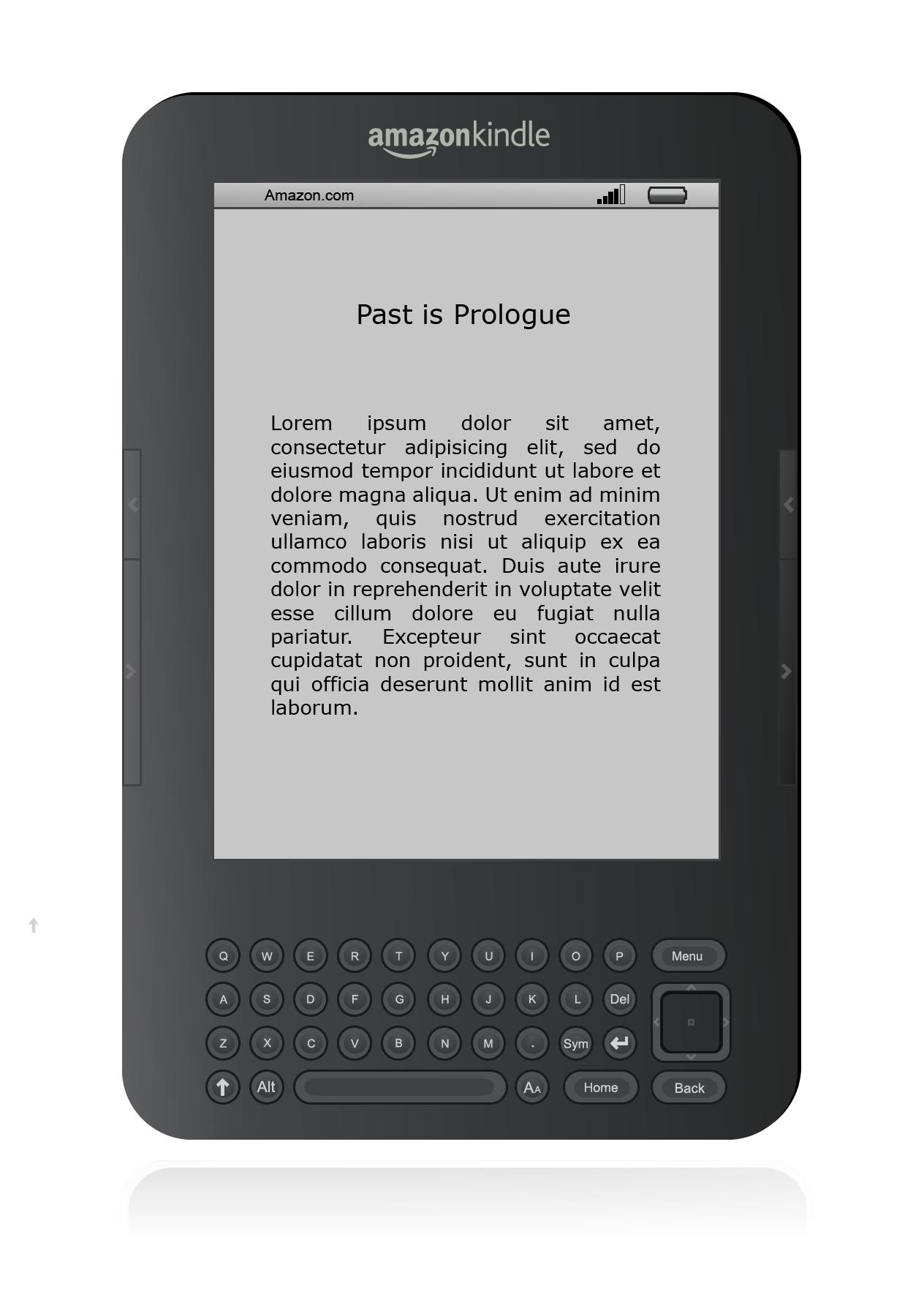 So PlusPng.com  - Amazon Kindle PNG