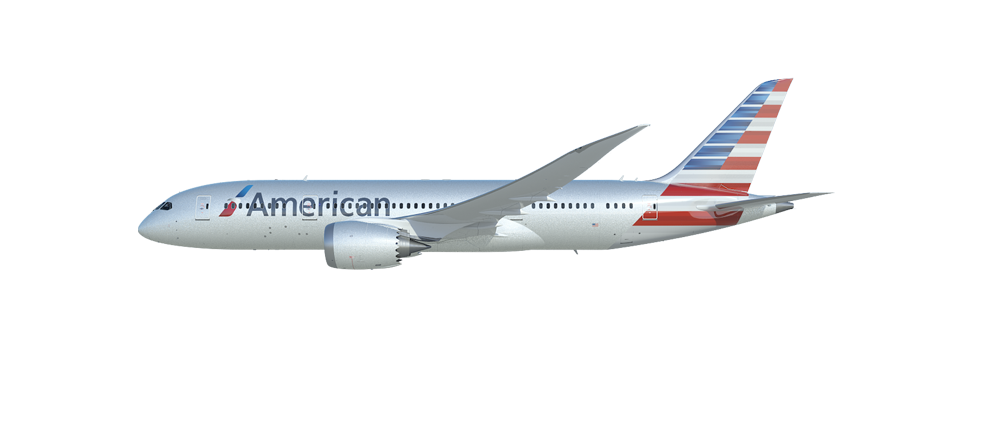 787 Dreamliner - American Airlines PNG