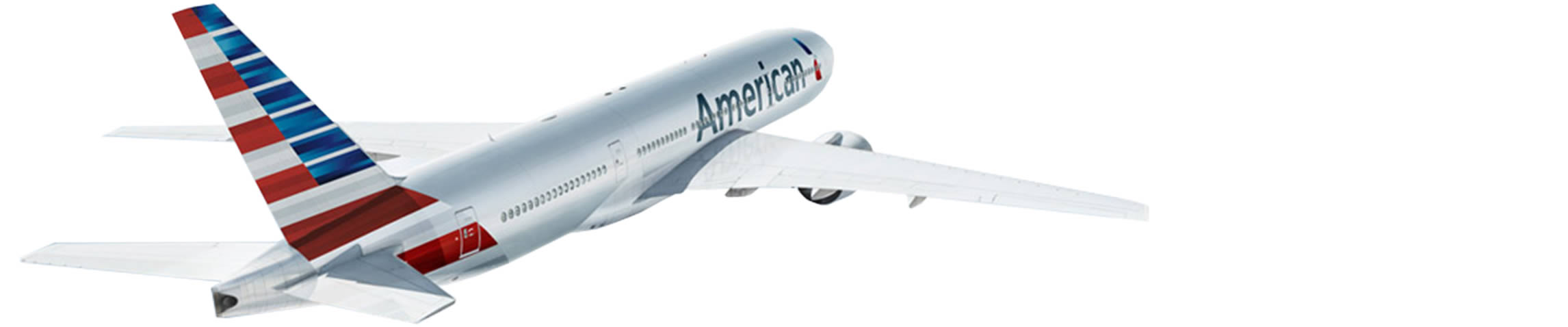 A plane with the new American livery - American Airlines PNG