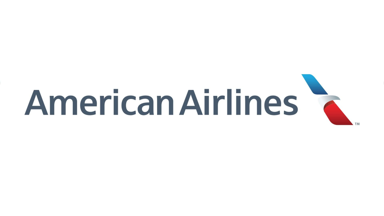 AA-banner.png - American Airlines PNG