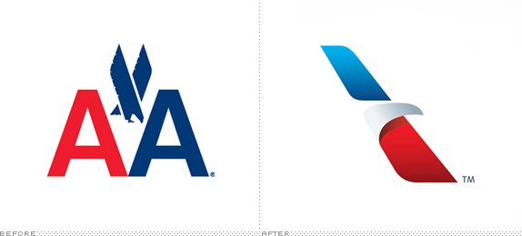 American Airlines Logo, Before and After - American Airlines PNG