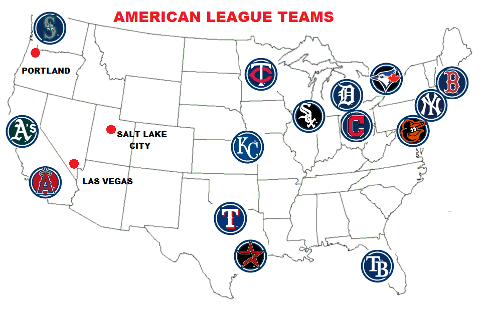American Baseball Teams PNG - 37802