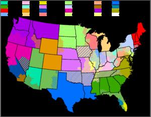 FileUsastateboundariestransparentpng Wikimedia Commons US Map - Map of baseball teams in us