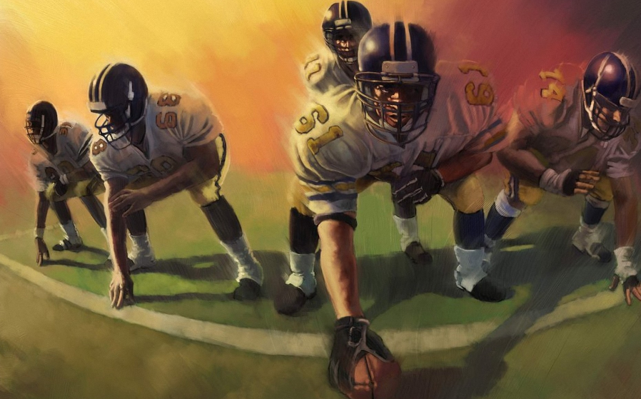 Why Donu0027t Other Countries Play American Football? - American Football Team PNG