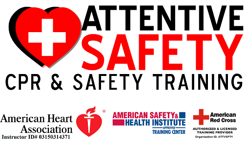 ATTENTIVE SAFETY CPR u0026 Safety Training offers American Heart Association  CPR training classes 7 days a - American Heartsaver Day PNG