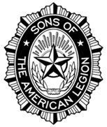 Large black and white SAL emblem PlusPng.com  - American Legion Logo PNG