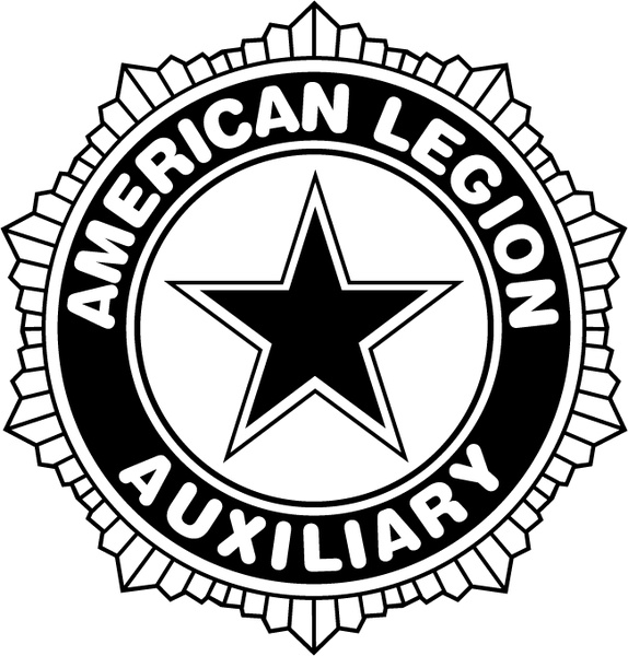 American legion auxiliary 0 Free vector 89.45KB - American Legion Vector PNG