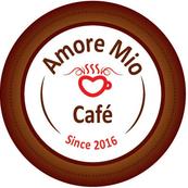 Amore Mio Cafe - Amore Cafe Logo PNG