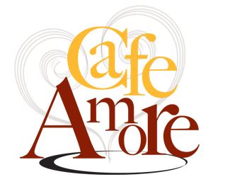Cafe Amore - Amore Cafe Logo PNG