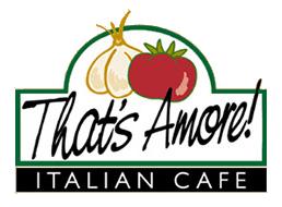 logo. Thatu0027s Amore Italian Cafe - Amore Cafe Logo PNG