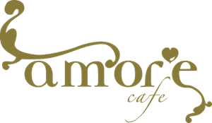 Amore Cafe Logo Vector PNG