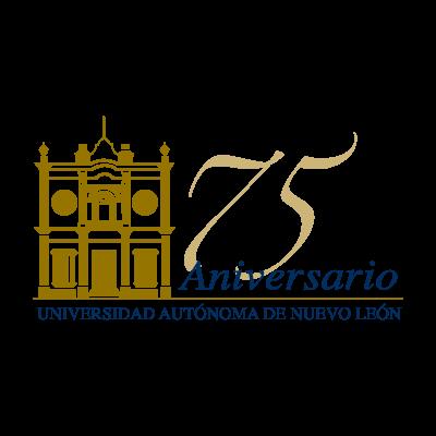 75 anos UANL vector logo - Anafen Logo Vector PNG