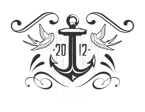 0c7e8a13b63d03e56255396f18bd00de.png (600×463) - Anchor Tattoos PNG