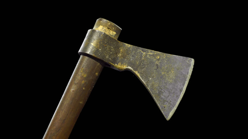 Holding an axe. PNG alpha background. Prekeyed. - HD stock video clip - Ancient China PNG HD