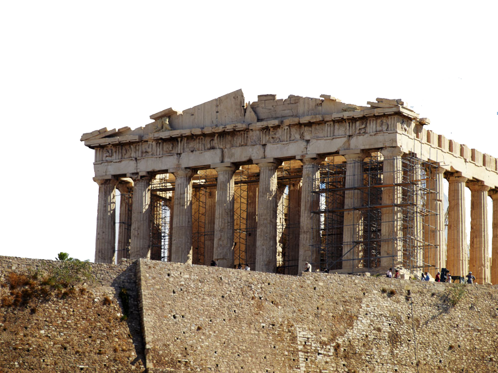 Acropolis of Athens Ancient Greek temple Ancient Greece Architecture - Greek  temple scenery. Download PNG - Ancient Greece PNG HD