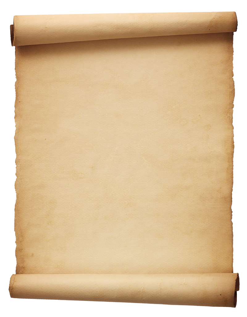 Ancient Letter Roll PNG-PlusPNG.com-800 - Ancient Letter Roll PNG