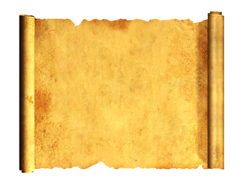 ancient letter roll clipart - Ancient Letter Roll PNG