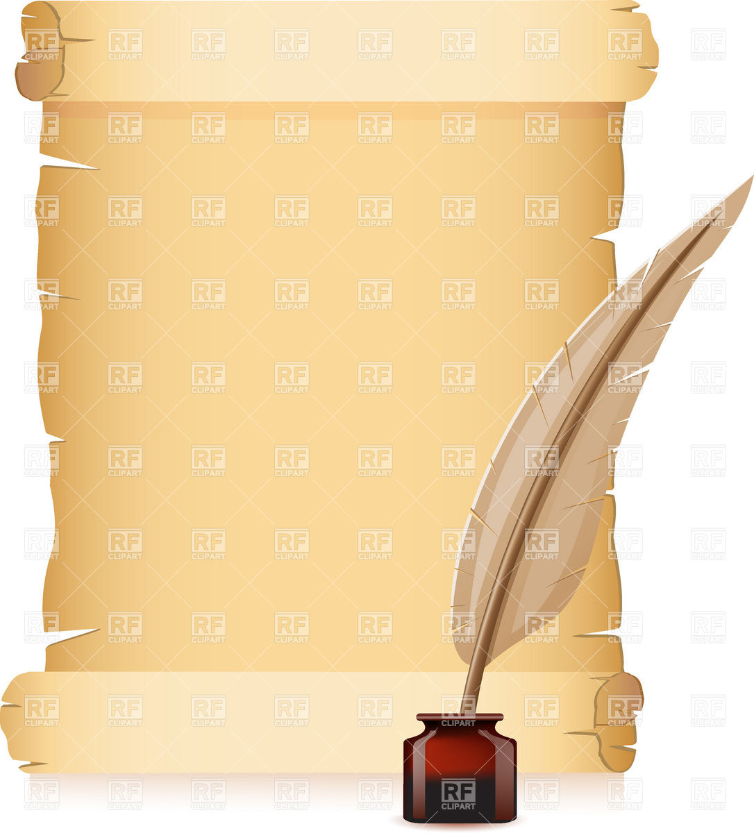 Ancient Letter Roll PNG - 160457
