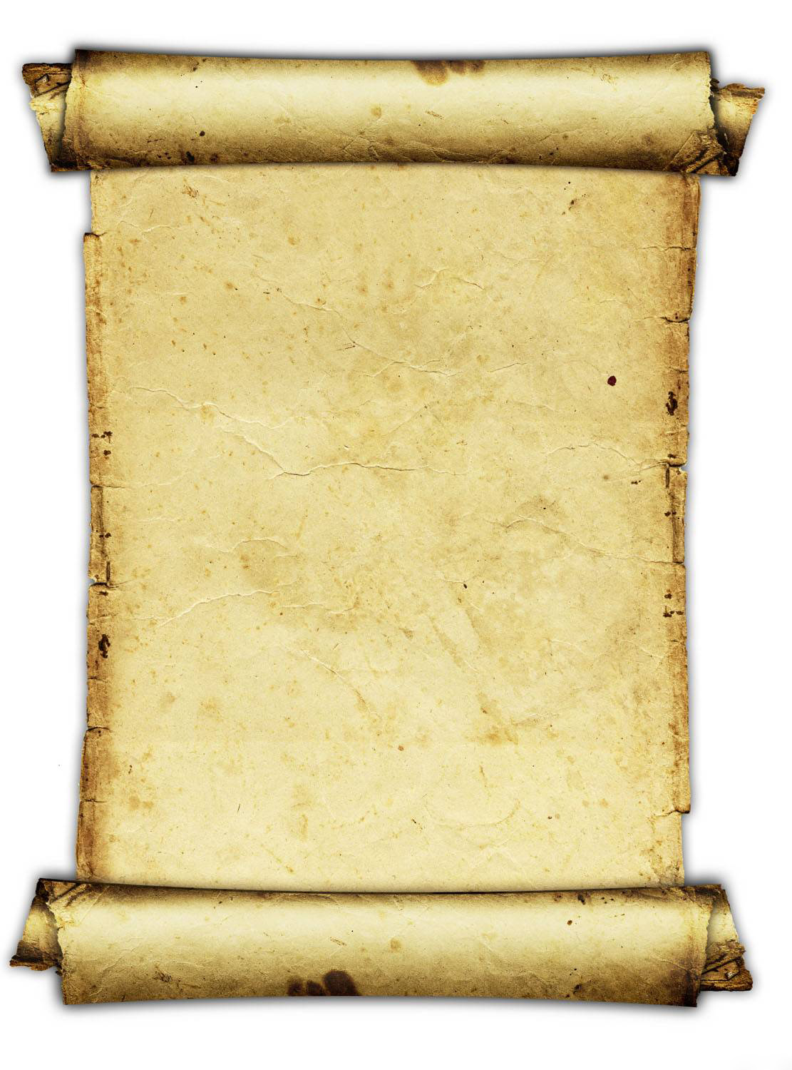 old paper - Ancient Letter Roll PNG