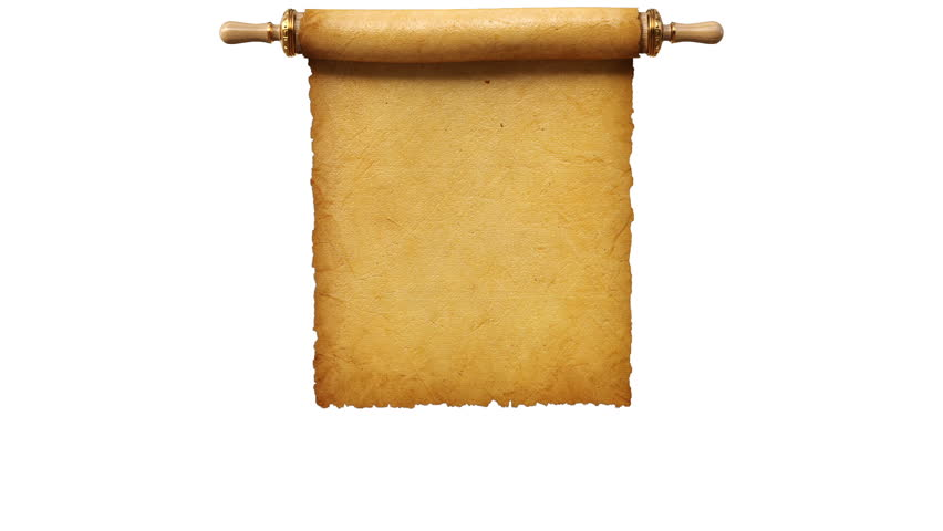 Ancient Letter Roll PNG - 160462