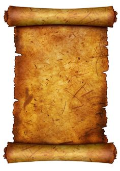 Ancient Letter Roll PNG - 160461