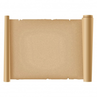 Ancient Letter Roll PNG - 160458