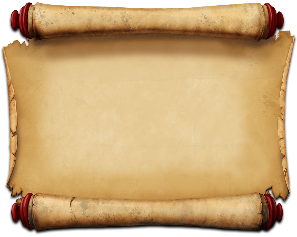 Ancient Letter Roll PNG - 160455