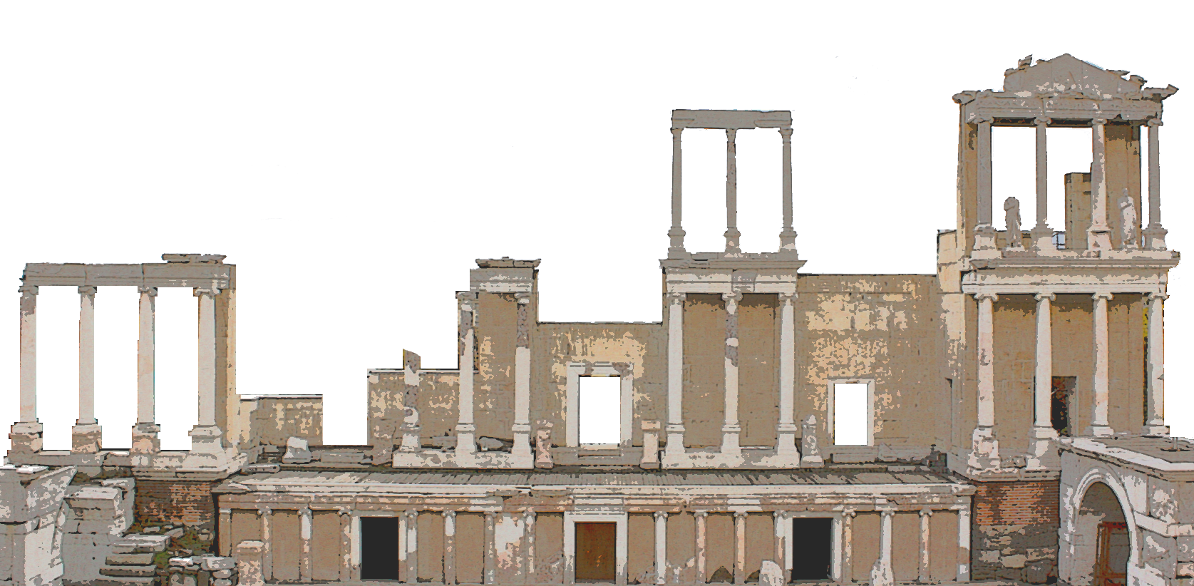 ancient rome architecture png transparent ancient rome