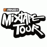 And1 Mix Tape Tour Logo Vector - And1 Logo Vector PNG