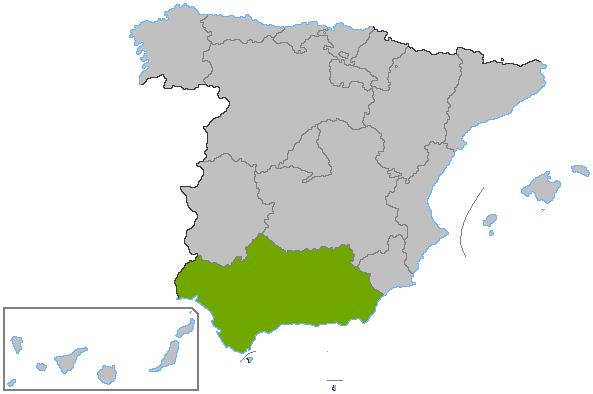 File:Localización Andalucía.png - Andalucia PNG