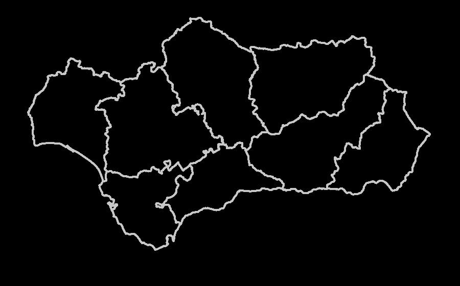WMS Mapa de ombrotipos de Andalucía a escala de detalle (1:10.000) :: Red  de Información Ambiental de Andalucía :: Consejería de Medio Ambiente y  Ordenación PlusPng.com  - Andalucia PNG