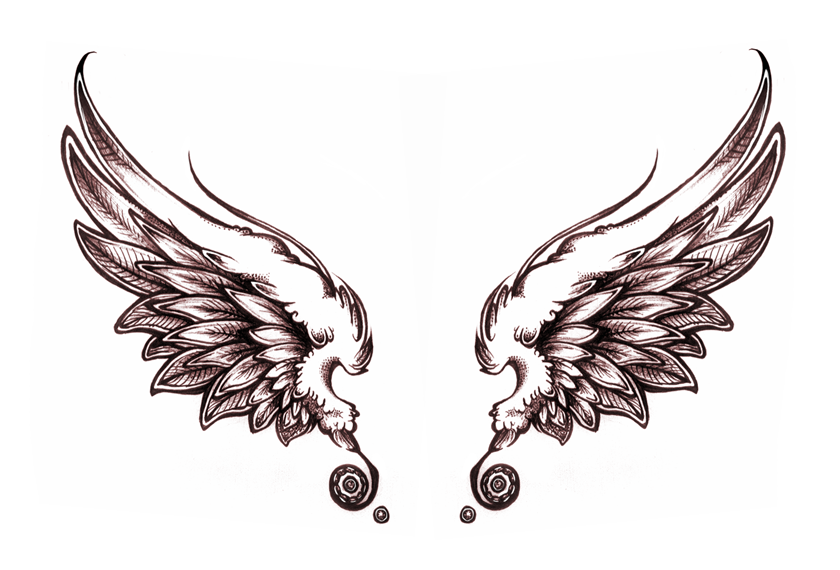 Angel Tattoos PNG - 2531