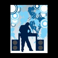 . PlusPng.com Disc jockey logo vector - Angel Chapil Vector PNG