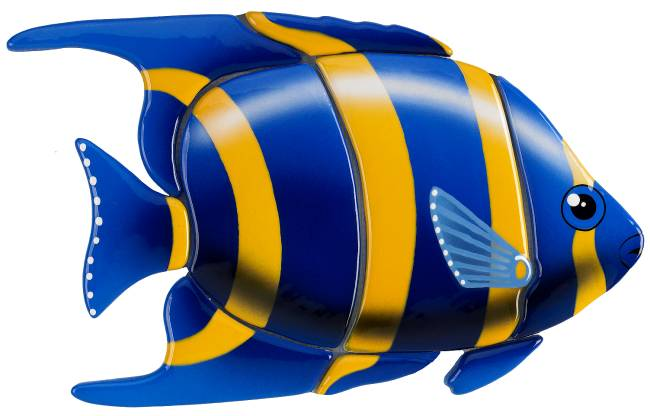 #3084 Angelfish Blue - Angel Fish PNG HD