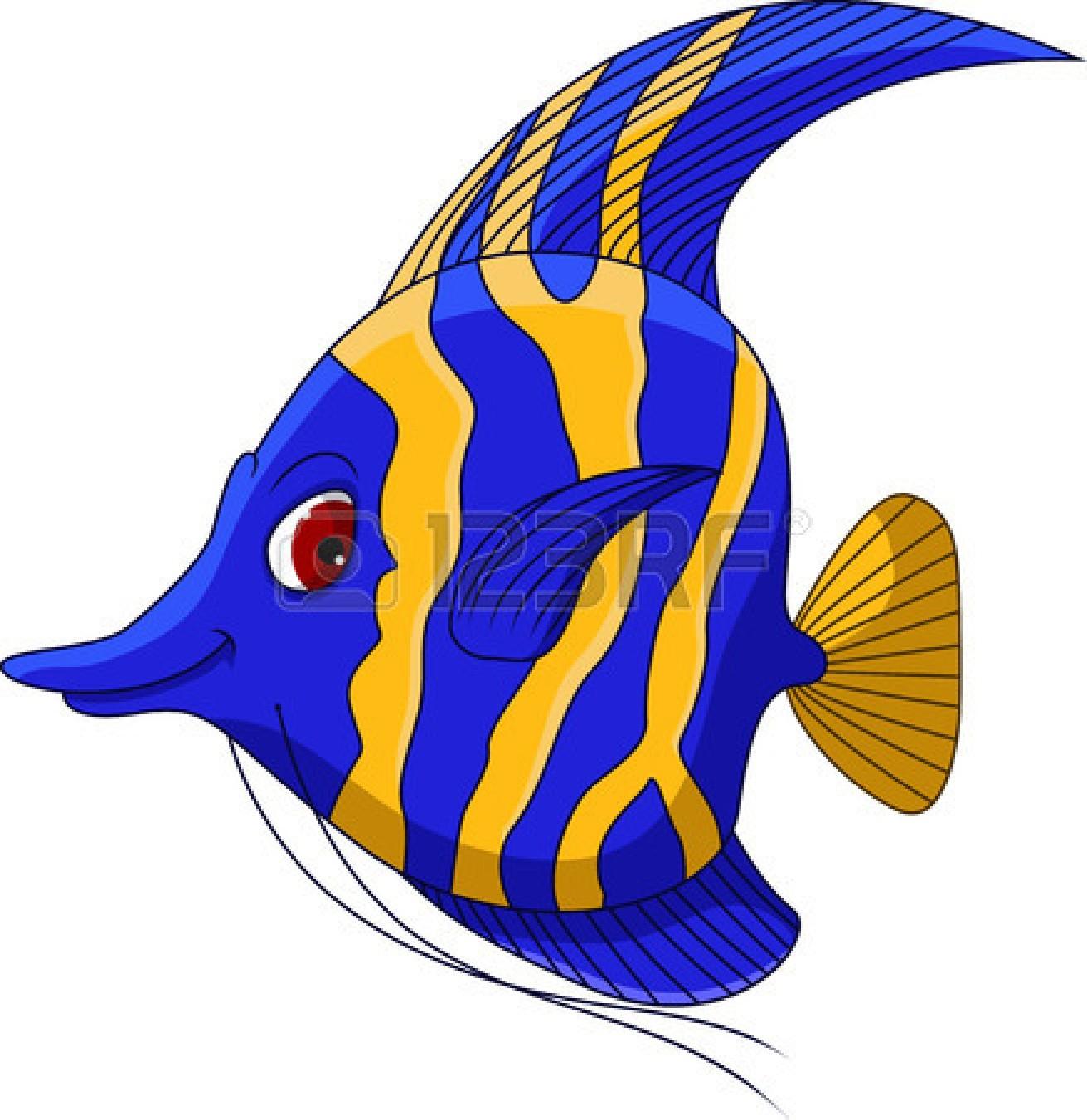 Drawn angelfish cartoon #5 - Angel Fish PNG HD