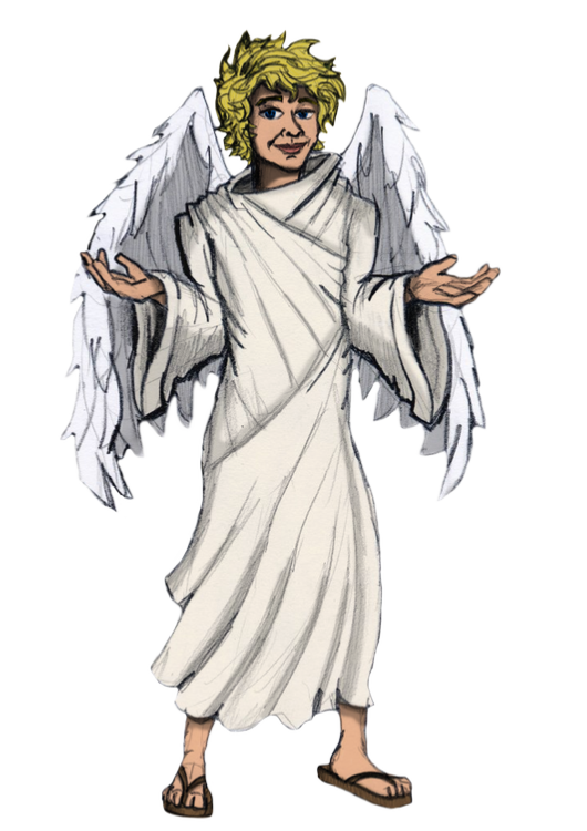 Angel Gabriel PNG