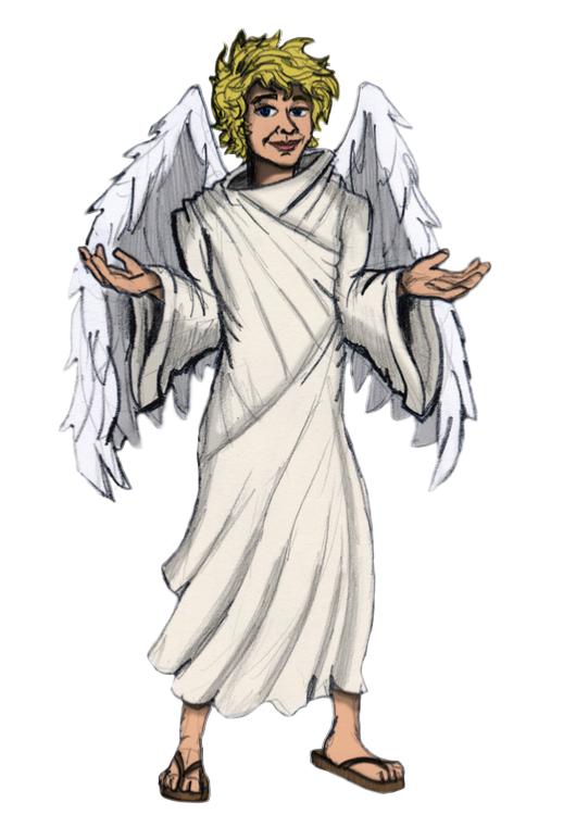 Angel Gabriel PNG